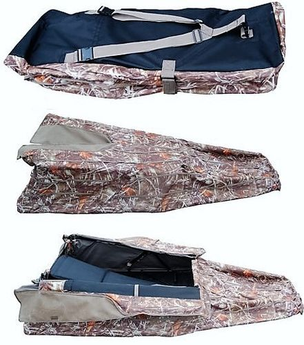 Laydown Camoblind perfect voor ganzenjacht